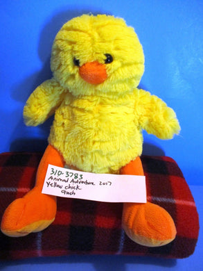 Animal Adventure Yellow Chick 2017 Beanbag Plush