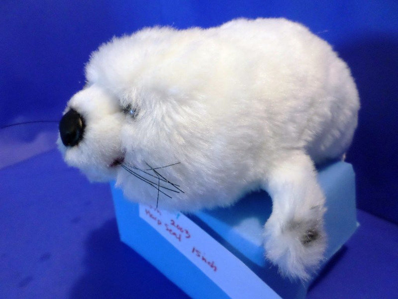 K & M White Harp Seal Pup 2003 Plush