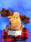 Ty Classic Melville the Moose 2004 Beanbag Plush