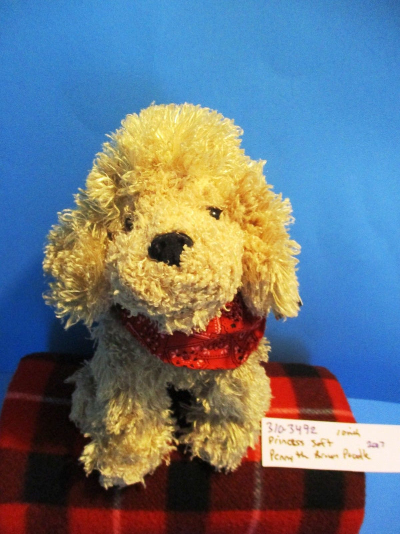 Princess Soft Brown Poodle 2007 Beanbag Plush