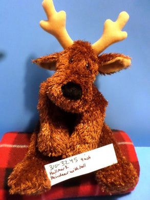 Hallmark Comet the Reindeer with Bell Beanbag Plush
