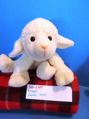 Target Little White Lamb beanbag plush(310-2469)
