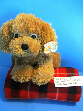Target Best Made Toys Cuddle Zone Brown Puppy Dog 2001 Plush