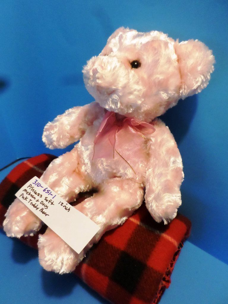 Melissa & Doug Princess Soft Pink Teddy Bear Plush