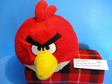 Commonwealth Rovio Angry Birds Talking Red 2010 plush(310-3037-1)