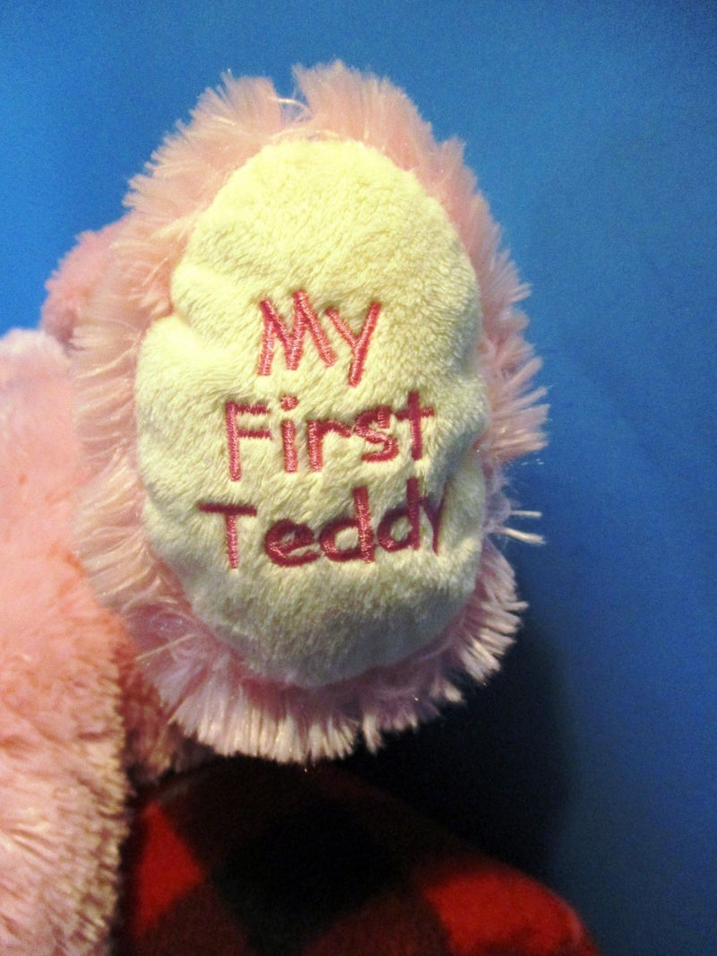 Ty Classic Sweet Baby Pink Bear My First Teddy 2014 Beanbag Plush