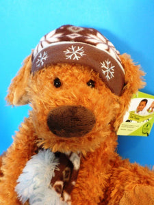 Hugfun Colby Brown Dog 2009 Plush
