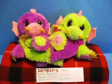 Wild Republic Switch A Rooz Dragons Huff and Puff 2015 Plush