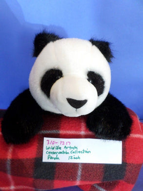 Wildlife Artists Conservation Collection Panda Bear Plush