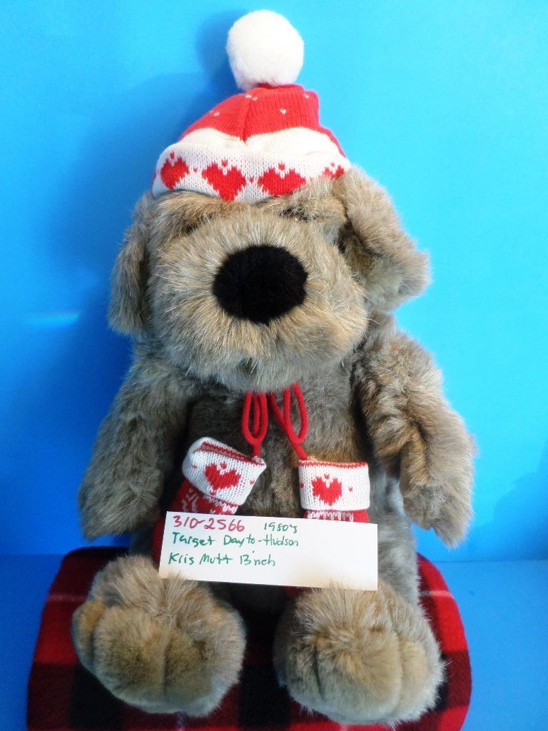 Dayton-Hudson Kris Mutt Brown Dog 1987 Plush