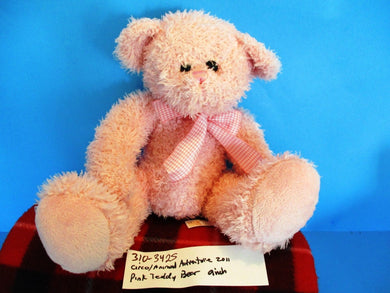 Circo/Animal Adventure Pink Teddy Bear 2011 Plush
