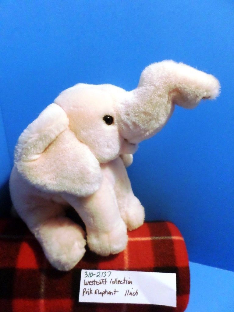 Westcliff Collection Pink Elephant Plush