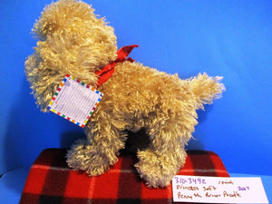 Princess Soft the Brown Poodle 2007 Beanbag Plush