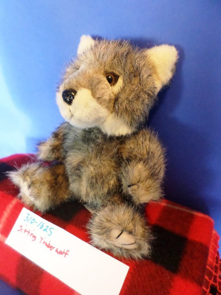 Steven Smith National Wildlife Federation Timber Wolf Plush