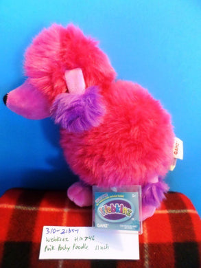 Ganz Webkinz Pink Poshy Poodle HM746 plush with sealed code(310-2135-1)