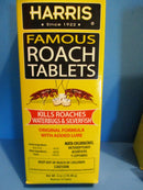 Harris Famous Roach Tablets Added Lure Boric Acid 6oz Set of 4