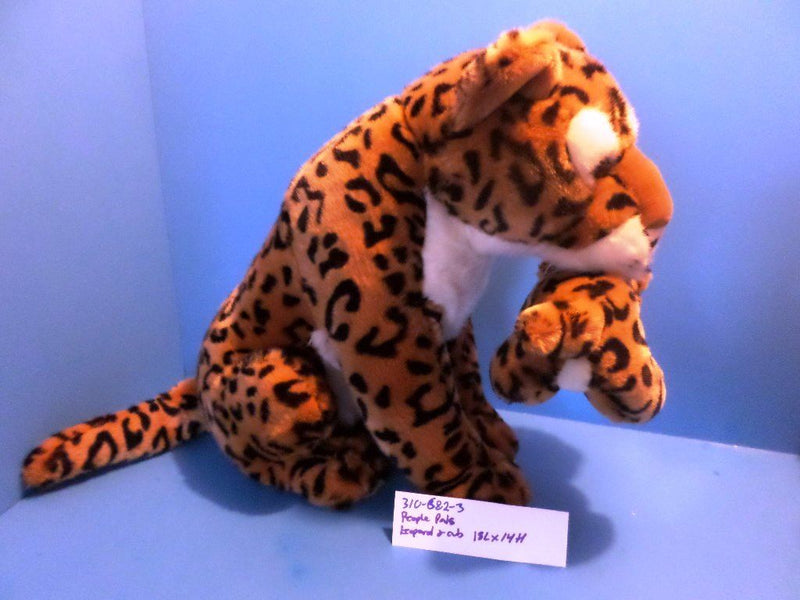 Aurora People Pals Leopard and Cub Plush