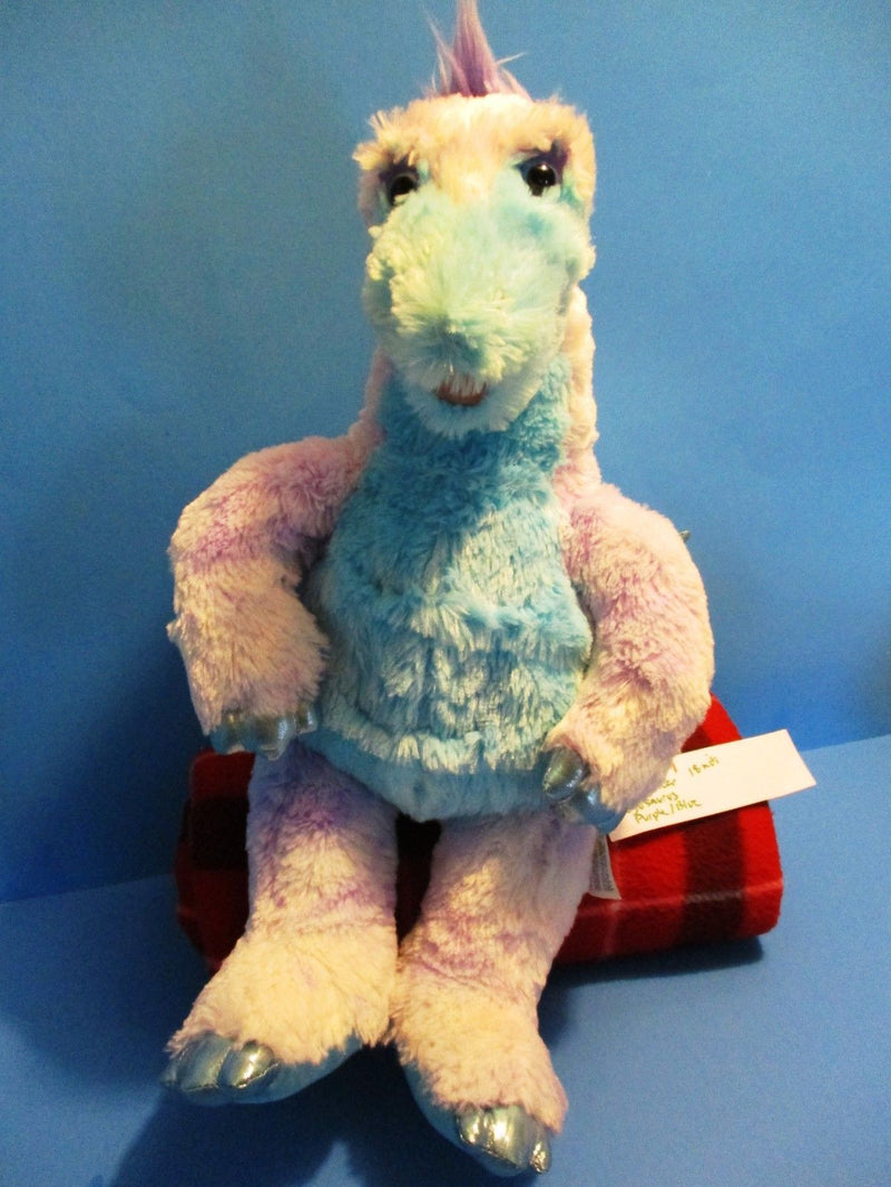Build-A-Bear Purple and Blue Stegosaurus Dinosaur Plush