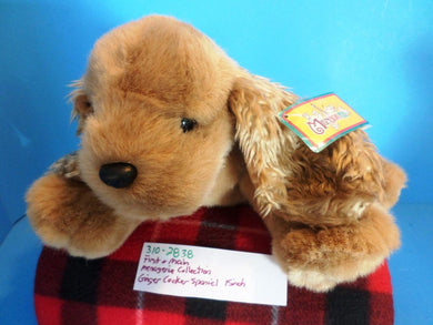 First and Main Menagerie Collection Ginger Cocker Spaniel Plush