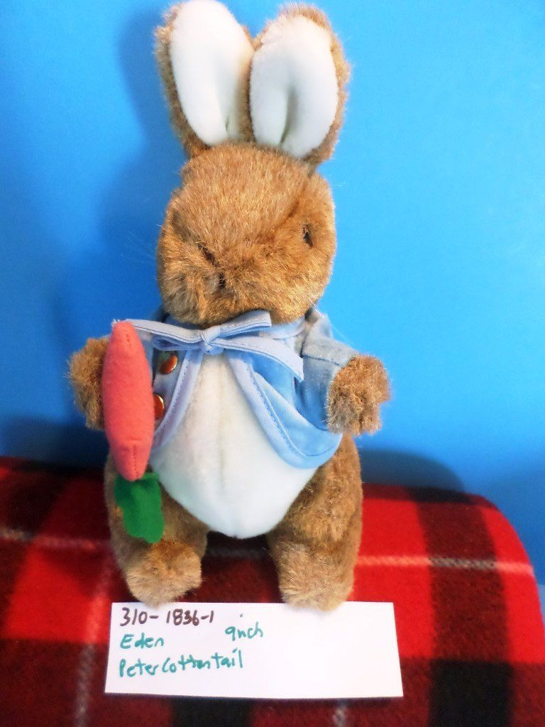 Eden Peter Rabbit 1989 Plush