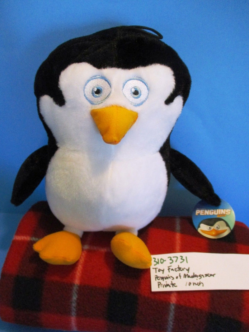 Toy Factory Penguins of Madagascar Skipper Plush