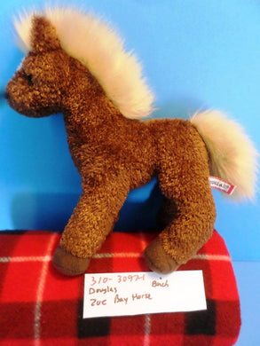 Douglas Zoe the Brown Bay Horse Pony Beanbag Plush