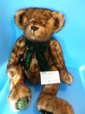 Dan Dee 100th Anniversary Brown Teddy Bear plush(310-2007)