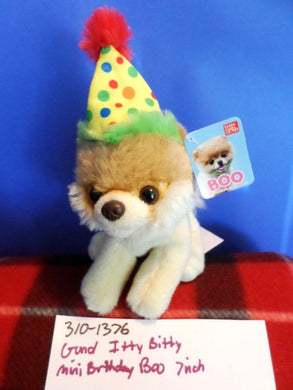 Gund Itty Bitty Birthday Boo(310-1376)