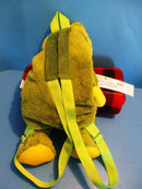 Green and Yellow Frog Backpack