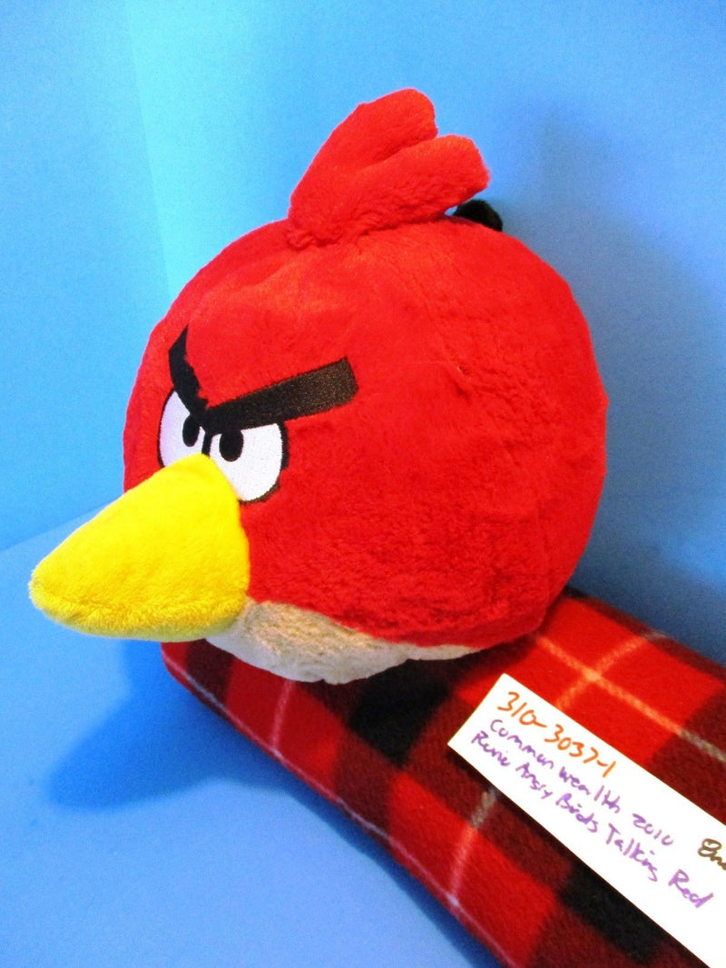 Commonwealth Rovio Angry Birds Talking Red 2010 Plush