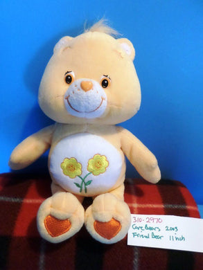Care Bears 2003 Friend Bear Plush (310-2970)