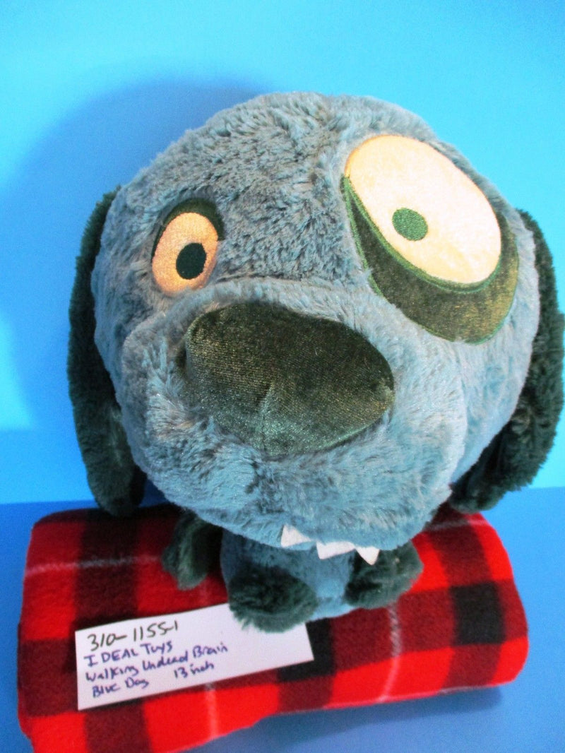 Ideal Toys Direct Walking Undead Blue Zombie Dog Plush