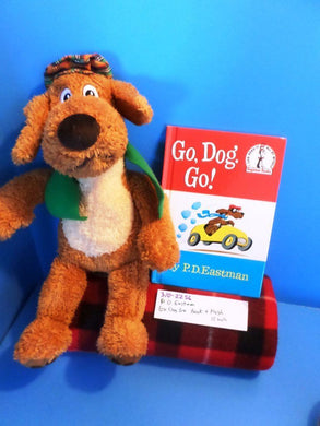 Kohl's P.D. Eastman Go Dog Go Plush and Book(310-2256)