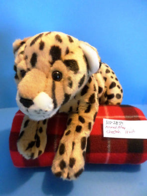 Animal Alley Cheetah Bean Bag Plush (310-2859)