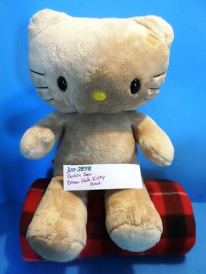 Build a Bear Brown Sun Kissed Hello Kitty Plush