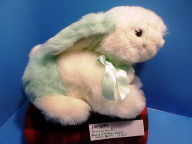 Commonwealth Pastel Mint Green and White Bunny/Rabbit Plush