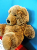 24K Polar Puff Special Effects Brown Bear 1988 Plush