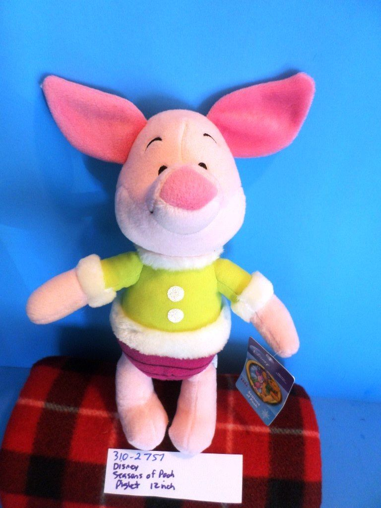 SEGA Disney Seasons of Pooh Piglet Plush