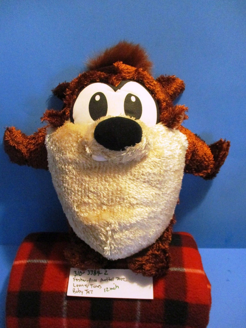 Fisher Price Looney Tunes Baby Taz 2002 Plush