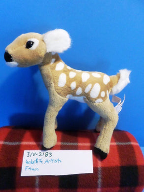 Wildlife Artists Deer Fawn 2012 Plush