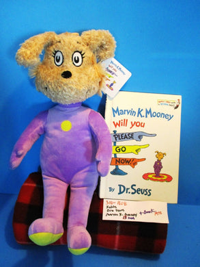 Kohl's Dr. Seuss Marvin K. Mooney plush and Book(310-1608)