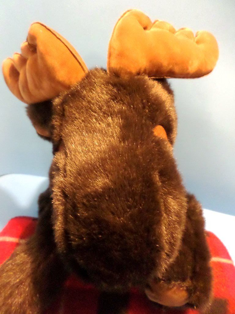 A&A Fancy Zoo Moose Beanbag Plush