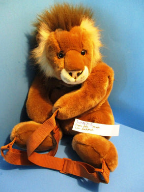 People Pals Children's Boys Lion Backpack(310-367-2)