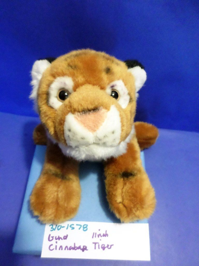 Gund Cinnabar the Bengal Tiger Cub Beanbag Plush