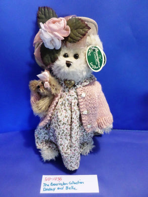 The Bearington Collection White Bear Daisy and Belle