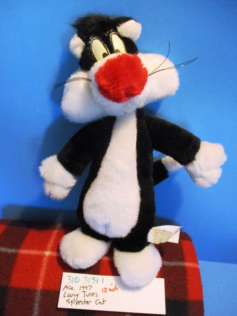 ACE Looney Tunes Sylvester the Cat 1997 Plush