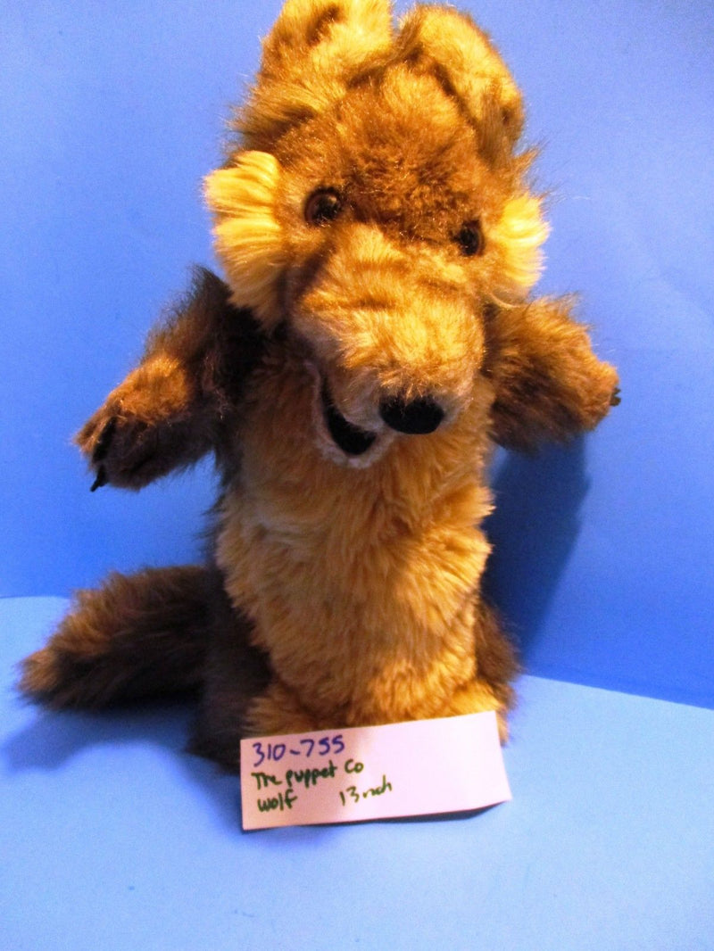 The Puppet Company Wolf Plush Puppet