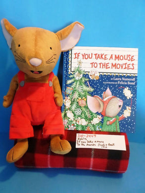 Kohl's If You Give Take a Mouse to the Movies Book and Plush(310-2449)