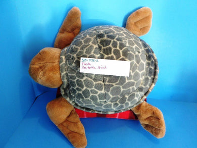 Fiesta Sea Turtle Green and Brown Plush (310-1156-2)