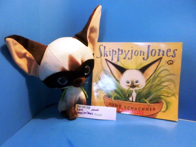 Kohl's Cares Skippyjon Jones The Siamese Cat Plush and Book